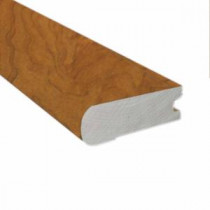 American Cherry Natural 1/2 in. Thick x 2-3/4 in. Wide x 78 in. Length Hardwood Flush-Mount Stair Nose Molding-LM4691 202709979
