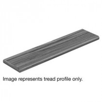 Cap A Tread Carmel Canyon Oak 47 in. Length x 12-1/8 in. Deep x 1-11/16 in. Height Laminate Left Return to Cover Stairs 1 in. Thick-016271925 300736715