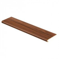 Cap A Tread Claret Jatoba 94 in. Length x 12-1/8 in. Deep x 1-11/16 in. Height Laminate to Cover Stairs 1 in. Thick-016041604 204152602
