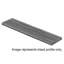 Cap A Tread Davenport Hickory 94 in. Length x 12-1/8 in. Deep x 1-11/16 in. Height Laminate Right Return to Cover Stairs 1 in. Thick-016144580 300956990