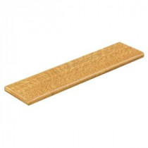 Cap A Tread Natural Oak 47 in. Length x 12-1/8 in. Deep x 1-11/16 in. Height Laminate Left Return to Cover Stairs 1 in. Thick-016271757 206052846