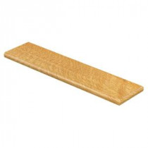 Cap A Tread Natural Oak 47 in. Length x 12-1/8 in. Deep x 1-11/16 in. Height Laminate Right Return to Cover Stairs 1 in. Thick-016171757 206053827