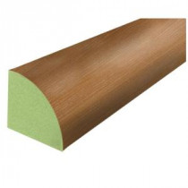 Cherry Block 3/4 in. Thick x 3/4 in. Wide x 94 in. Length Laminate Quarter Round Molding-369230 100083815