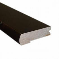 Dark Exotic 13/32 ft. Thick x 2-3/8 in. Wide x 78 in. Length Flush-Mount Stair Nose Molding-LM6619 203046829