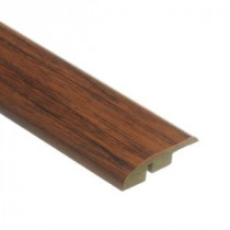 Distressed Brown Hickory 1/2 in. Thick x 1-3/4 in. Wide x 72 in. Length Laminate Multi-Purpose Reducer Molding-0137621525 204257325
