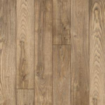 Hampton Bay Clayton Oak 12 mm Thick x 6-3/16 in. Wide x 50-1/2 in. Length Laminate Flooring (17.40 sq. ft. / case)-195147 203547119