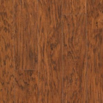 Hampton Bay Cleburne Hickory 8 mm Thick x 5- 3/8 in. Wide x 47-6/8 in. Length Laminate Flooring (25.19 sq. ft. / case)-367551-00087 203139515
