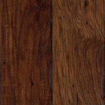 Hampton Bay Espresso Pecan Laminate Flooring - 5 in. x 7 in. Take Home Sample-UN-561133 203800742
