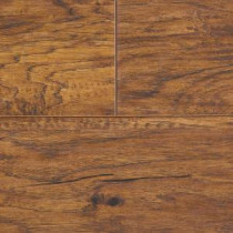 Hampton Bay Hometown Hickory Sable Laminate Flooring - 5 in. x 7 in. Take Home Sample-HB-547120 203800743