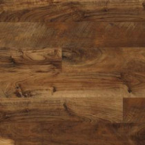 Hampton Bay Maple Grove Saffron Laminate Flooring - 5 in. x 7 in. Take Home Sample-HB-547117 203800754