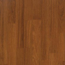 Hampton Bay Tortola Teak Laminate Flooring - 5 in. x 7 in. Take Home Sample-HB-015242 203391949