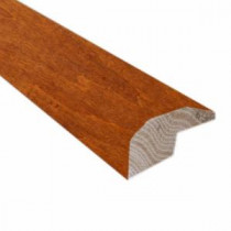 Handscraped Maple Nutmeg/Spice 0.88 in. Thick x 2 in. Wide x 78 in. Length Hardwood Carpet Reducer/Baby T-Molding-LM6516 202745950