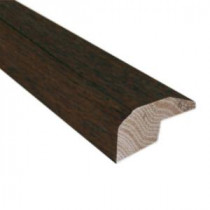 Hickory Chestnut 0.88 in. Thick x 2 in. Wide x 78 in. Length Hardwood Carpet Reducer/Baby Threshold Molding-LM6251 202745974