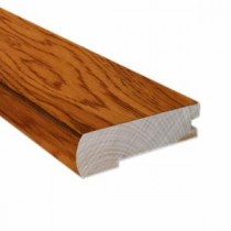 Hickory Golden Rustic 0.81 in. Thick x 2.37 in. Wide x 78 in. Length Hardwood Flush-Mount Stair Nose Molding-LM6509 202745952