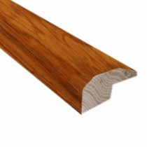 Hickory Golden Rustic 0.88 in. Thick x 2 in. Wide x 78 in. Length Hardwood Carpet Reducer/Baby Threshold Molding-LM6512 202745955