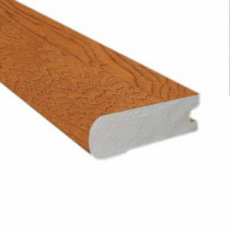 Hickory Honey 3/4 in. Thick x 2-3/4 in. Wide x 78 in. Length Hardwood Flush-Mount Stair Nose Molding-LM5691 202709984