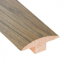 Hickory Sepia 3/4 in. Thick x 2 in. Wide x 78 in. Length Hardwood T-Molding-LM6501 202745969