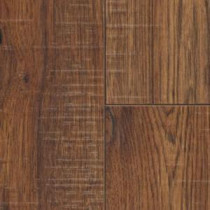 Home Decorators Collection Distressed Brown Hickory Laminate Flooring - 5 in. x 7 in. Take Home Sample-KL-005338 204601355