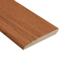 Home Legend Canyon Cherry 1/2 in. Thick x 3-13/16 in. Wide x 94 in. Length Laminate Wall Base Molding-HL1001WB 202638080