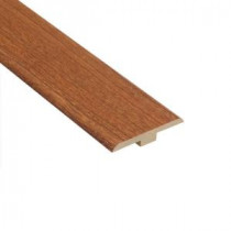 Home Legend Canyon Cherry 1/4 in. Thick x 1-7/16 in. Wide x 94 in. Length Laminate T-Molding-HL1001TM 202638065