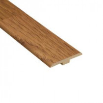Home Legend Hickory 1/4 in. Thick x 1-7/16 in. Wide x 94 in. Length Laminate T-Molding-HL1007TM 202638218
