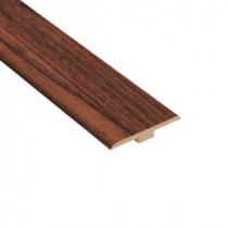 Home Legend High Gloss Makena Koa 1/4 in. Thick x 1-7/16 in. Wide x 94 in. Length Laminate T-Molding-HL99TM 202928987