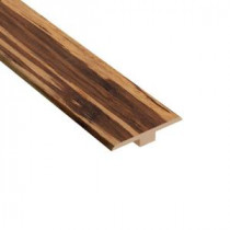Home Legend Makena Bamboo 1/4 in. Thick x 1-7/16 in. Wide x 94 in. Length Laminate T-Molding-HL1029TM 203332570