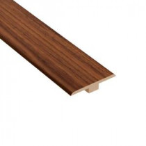 Home Legend Monarch Walnut 1/4 in. Thick x 1-7/16 in. Wide x 94 in. Length Laminate T-Molding-HL1012TM 203386438
