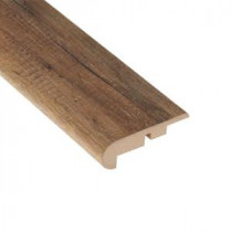 Home Legend Newport Oak 7/16 in. Thick x 2-1/4 in. Wide x 94 in. Length Laminate Stairnose Molding-HL1019SN 203332913
