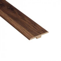 Home Legend Oak Vital 1/4 in. Thick x 1-7/16 in. Wide x 94 in. Length Laminate T-Molding-HL1006TM 202638197