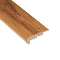 Home Legend Pacific Hickory 7/16 in. Thick x 2-1/4 in. Wide x 94 in. Length Laminate Stair Nose Molding-HL1016SN 203332586
