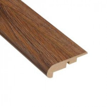 Home Legend Palace Oak Dark 7/16 in. Thick x 2-1/4 in. Wide x 94 in. Length Laminate Stairnose Molding-HL1004SN 202638122