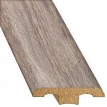 Innovations Copper Slate 1/2 in. Thick x 1-3/4 in. Wide x 94-1/4 in. Length Laminate T-Molding-TMF50005 206641597