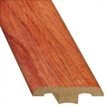Innovations Rio Brazilian Walnut 1/2 in. Thick x 1-3/4 in. Wide x 94-1/4 in. Length Laminate T-Molding-TMF00107 206442847