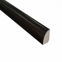 Maple Chocolate 3/4 in. Thick x 3/4 in. Wide x 78 in. Length Hardwood Quarter Round Molding-LM6031 202103213