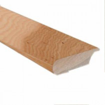 Millstead Unfinished Hickory 0.81 in. Thick x 3 in. Wide x 78 in. Length Hardwood Lipover Stair Nose Molding-LM6500 202710008