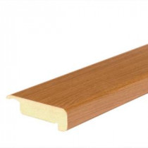 Mohawk Honey Oak 4/5 in. Thick x 2-2/5 in. Wide x 78-7/10 in. Length Laminate Stair Nose Molding-MSNP-00918 205506132