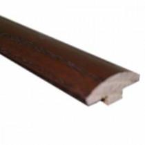 Oak Dark Gunstock 5/8 in. Thick x 2 in. Wide x 78 in. Length Hardwood T-Molding-LM5904 202103201
