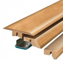 Pergo Alexandria Walnut 3/4 in. Thick x 2-1/8 in. Wide x 78-3/4 in. Length Laminate 4-in-1 Molding-MG001303 300504627
