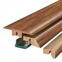 Pergo Burmese Rosewood 3/4 in. Thick x 2-1/8 in. Wide x 78-3/4 in. Length Laminate 4-in-1 Molding-MG001300 300700946