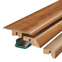 Pergo Golden Tigerwood 3/4 in. Thick x 2-1/8 in. Wide x 78-3/4 in. Length Laminate 4-in-1 Molding-MG001298 300504625