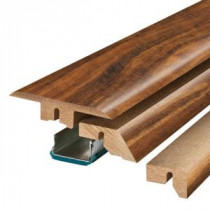 Pergo Hawaiian Curly Koa 3/4 in. Thick x 2-1/8 in. Wide x 78-3/4 in. Length Laminate 4-in-1 Molding-MG001283 300504628