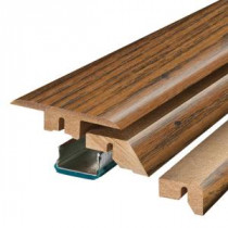 Pergo Haywood Hickory 3/4 in. Thick x 2-1/8 in. Wide x 78-3/4 in. Length Laminate 4-in-1 Molding-MG001308 300700962