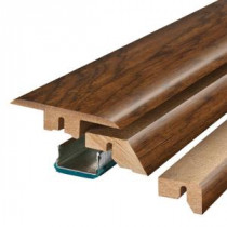 Pergo Highland Hickory 3/4 in. Thick x 2-1/8 in. Wide x 78-3/4 in. Length Laminate 4-in-1 Molding-MG001281 300504632