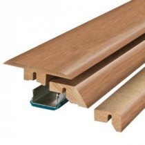 Pergo Marigold Oak/Haley Oak 2-1/8 in. Wide x 78-3/4 in. Length 4-in-1 Laminate Molding-MG001233 206961447