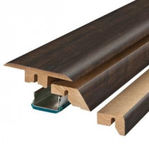 Pergo Molasses Maple 3/4 in. Thick x 2-1/8 in. Wide x 78-3/4 in. Length Laminate 4-in-1 Molding-MG001232 206961446