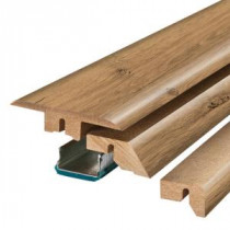 Pergo Riverbend Oak 3/4 in. Thick x 2-1/8 in. Wide x 78-3/4 in. Length Laminate 4- in-1 Molding-MG001286 300504642