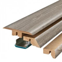 Pergo Seabrook Walnut 3/4 in. Thick x 2-1/8 in. Wide x 78-3/4 in. Length Laminate 4-in-1 Molding-MG001280 300504638