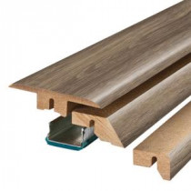 Pergo Warm Grey Oak/Southern Grey Oak 3/4 in. Thick x 2-1/8 in. Wide x 78-3/4 in. Length Laminate 4-in-1 Molding-MG001278 300504641
