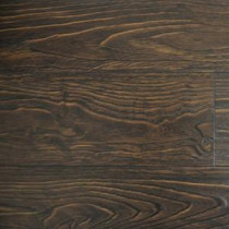 PID Floors Espresso Color Laminate Flooring - 6-1/2 in. Wide x 3 in. Length Take Home Sample-CL02ES 203824648